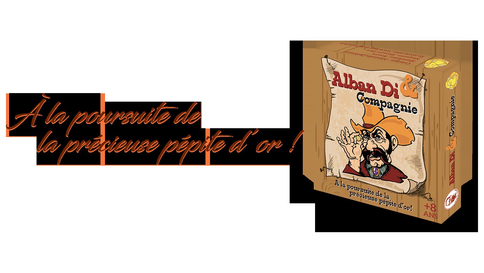 Alban Di : jeu de société, jeu de cartes stratégie Tout public
